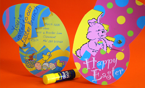 easter egg cards easter craft bostik south africa