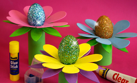 Eggs-ceptional Easter Flowers