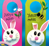 Bunny Door Signs