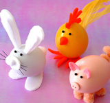 Egg-ceptional Easter Animals