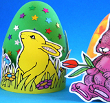 Paper Easter-Egg Holders