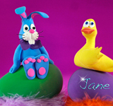 Easter Crazy Clay Characters