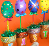 Eggs-Citing Easter Egg Pot-Plants
